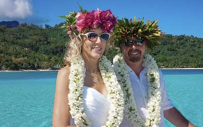 J & C Civil Marriage & Tahitian Wedding in Bora Bora