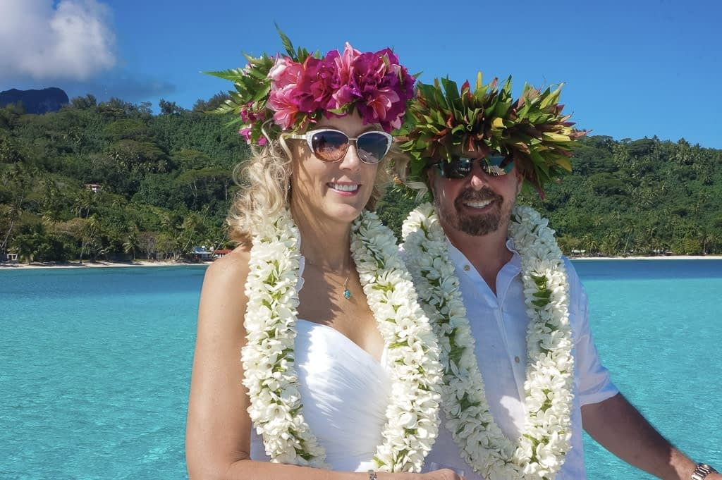 Wedding Bora Bora - Motu Ceremony