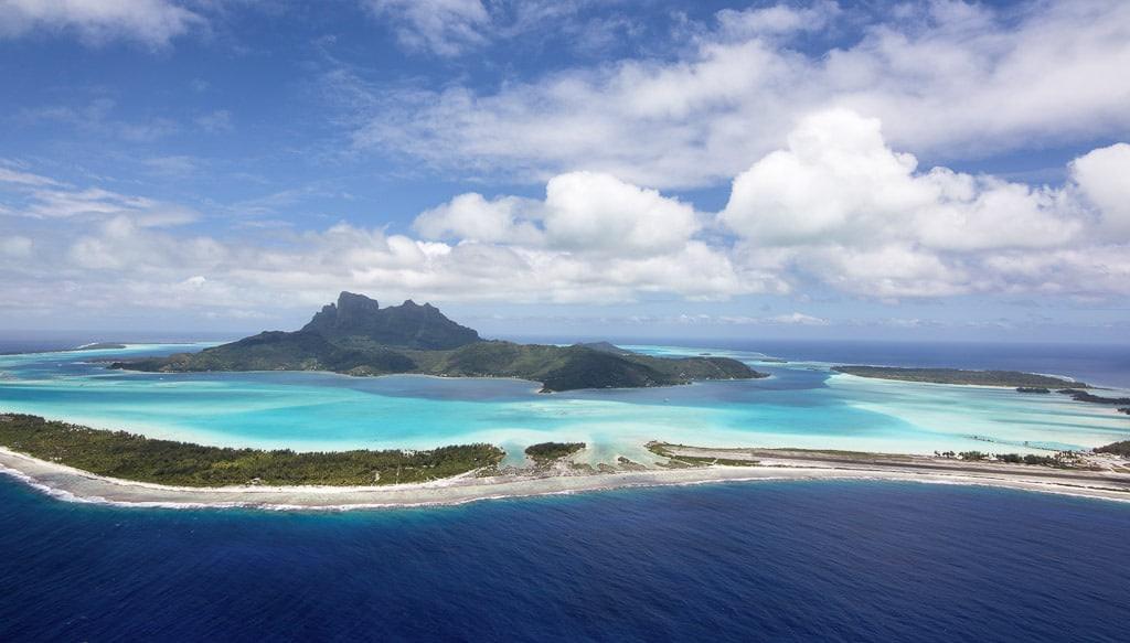 Bora Bora Aerial View