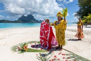 Motu Piti Aau Bora Bora Ceremony
