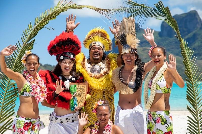 Ken & Yuriko – Tahitian Wedding at Motu Piti Aau