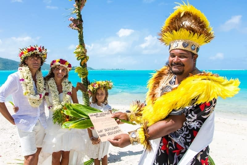 Wedding Bora Bora