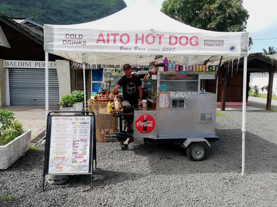 Aito Hot Dog Bora Bora
