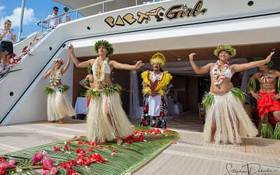 7.7.2017 – A royal Wedding in Bora Bora aboard private yacht MV Party Girl