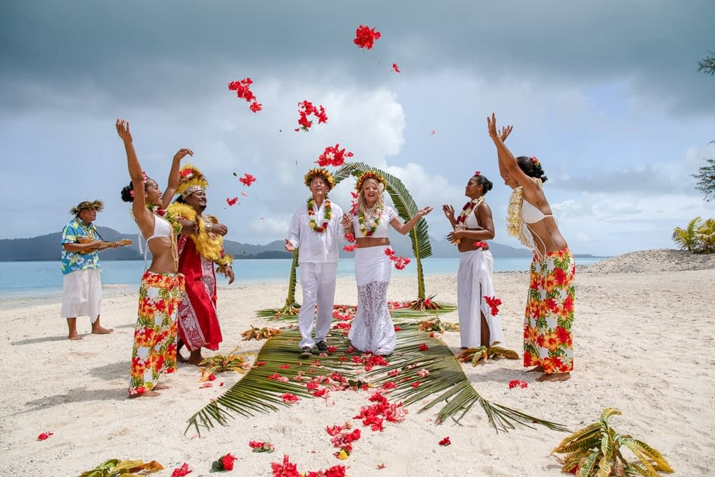 Wedding Bora Bora - Services
