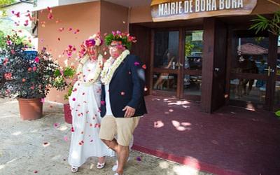 David & Eve – Civil Marriage & Traditional Tahitian Wedding