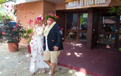 David & Eve – Civil Marriage & Traditional Tahitian Wedding