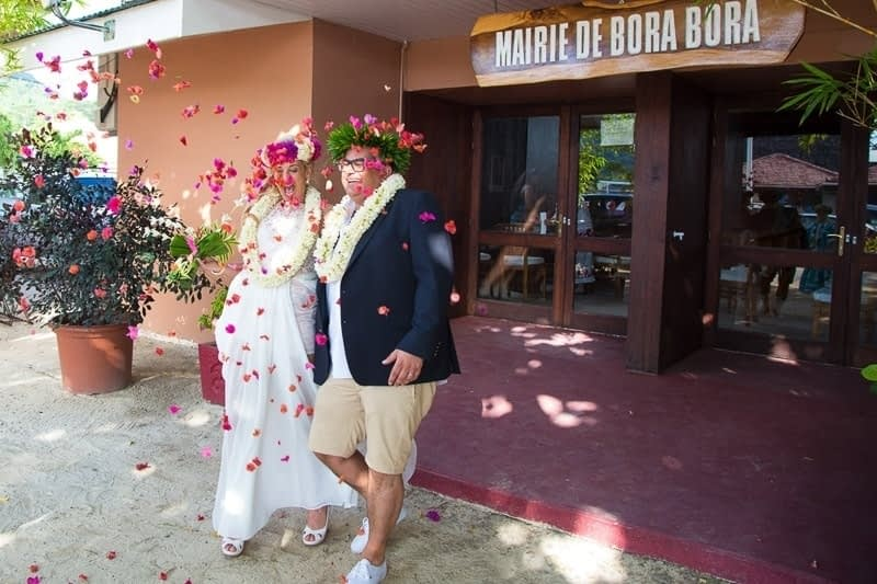 Wedding Bora Bora - Civil Ceremony