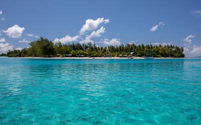 Tahitian Ceremony in Bora Bora for an Australian Couple