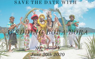 Bora Bora Wedding – Save the date!
