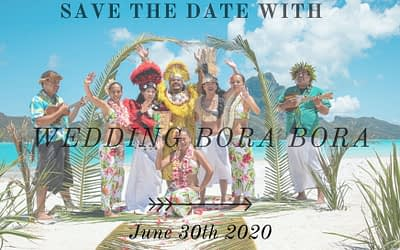 Bora Bora Wedding – Save the date!
