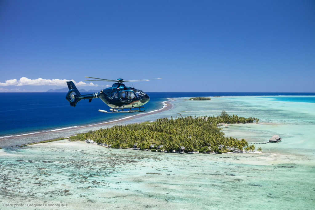 Tahiti nui helicopter