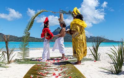 Ken & Yuriko Story of their Tahitian Wedding